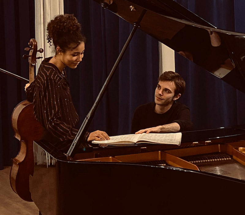 Anna Liets, Violoncelle et Antonin Serve, Piano